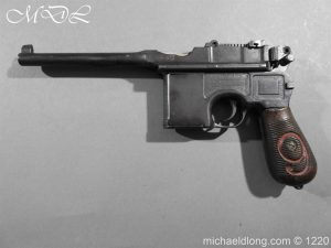 michaeldlong.com 15018 300x225 Mauser Contract Red 9 Semi Automatic Pistol Deactivated