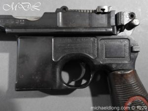 michaeldlong.com 15020 300x225 Mauser Contract Red 9 Semi Automatic Pistol Deactivated