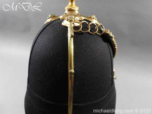michaeldlong.com 15170 300x225 Victorian Bedfordshire Officer's Blue Cloth Helmet