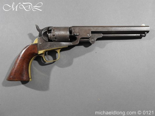 Manhattan Colt Navy .36 Calibre Percussion Revolver