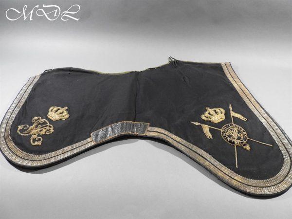 michaeldlong.com 15242 600x450 Victorian 9th Lancers Officer's Shabraque