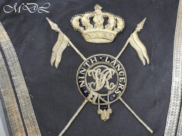 michaeldlong.com 15244 600x450 Victorian 9th Lancers Officer's Shabraque
