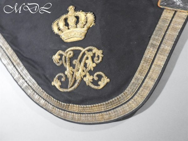 michaeldlong.com 15245 600x450 Victorian 9th Lancers Officer's Shabraque