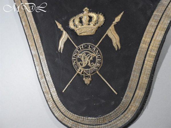 michaeldlong.com 15250 600x450 Victorian 9th Lancers Officer's Shabraque