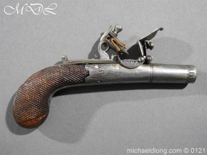 Flintlock Pocket Pistol by Brunn