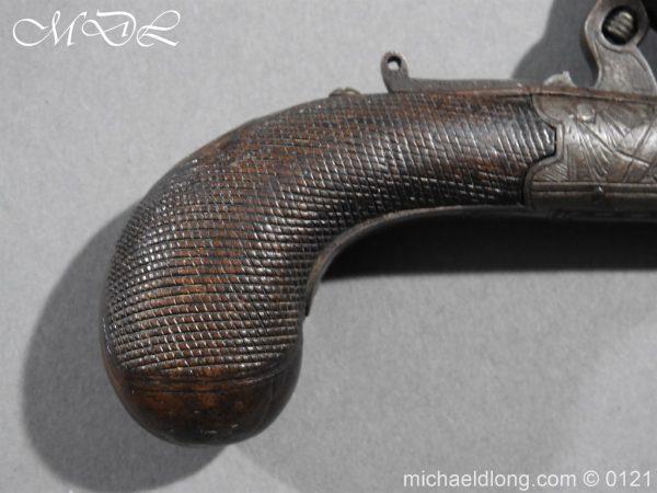 michaeldlong.com 15341 600x450 Flintlock Pocket Pistol by H. Nock