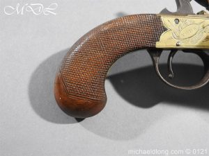 michaeldlong.com 15355 300x225 Flintlock Ducks Foot Pistol Circa 1810