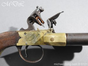 michaeldlong.com 15356 300x225 Flintlock Ducks Foot Pistol Circa 1810