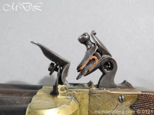 michaeldlong.com 15364 300x225 Flintlock Ducks Foot Pistol Circa 1810