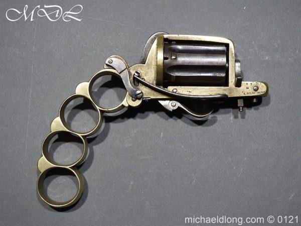 michaeldlong.com 15439 600x450 7mm Pinfire Dolne Apache Combination Pepperbox Pistol