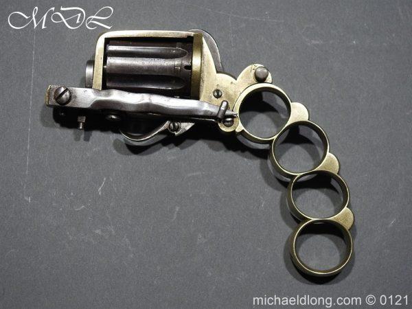 michaeldlong.com 15443 600x450 7mm Pinfire Dolne Apache Combination Pepperbox Pistol