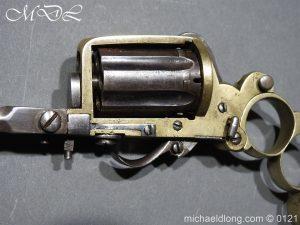 michaeldlong.com 15447 300x225 7mm Pinfire Dolne Apache Combination Pepperbox Pistol