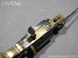 michaeldlong.com 15449 300x225 7mm Pinfire Dolne Apache Combination Pepperbox Pistol