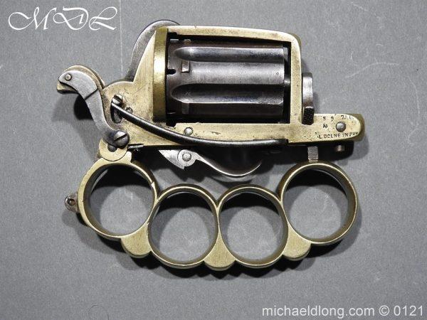 michaeldlong.com 15451 600x450 7mm Pinfire Dolne Apache Combination Pepperbox Pistol