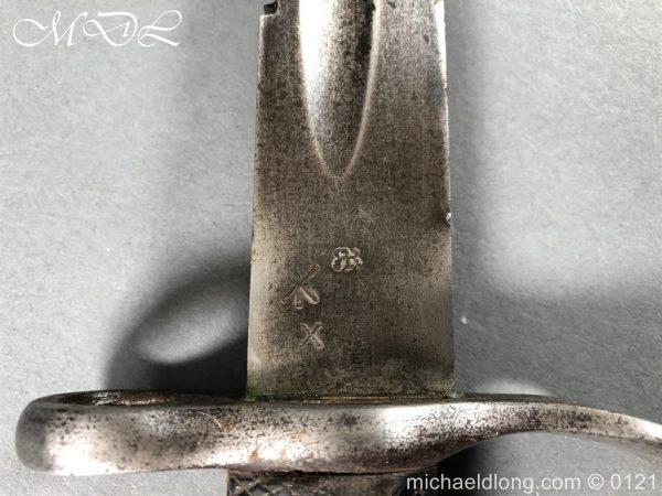 michaeldlong.com 15521 600x450 British 1879 Martini Henry Artillery Carbine Bayonet