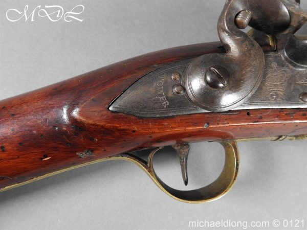 michaeldlong.com 15562 600x450 British Georgian Flintlock Heavy Musketoon