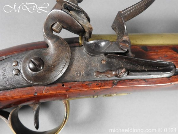michaeldlong.com 15563 600x450 British Georgian Flintlock Heavy Musketoon