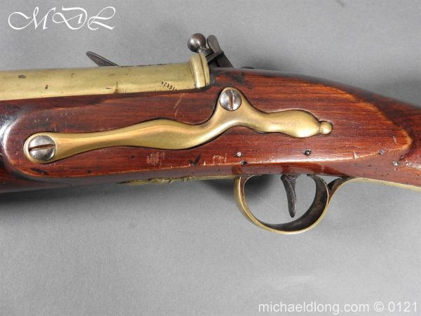 michaeldlong.com 15576 600x450 British Georgian Flintlock Heavy Musketoon