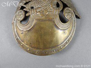 michaeldlong.com 15613 1 300x225 Russian Double Eagle Shako Helmet Plate