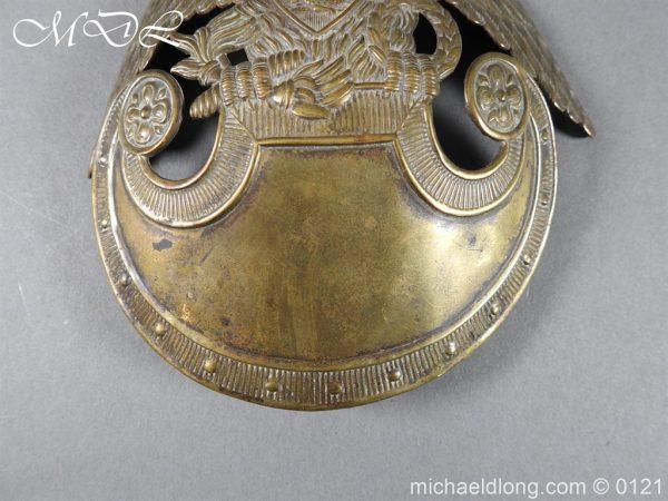 michaeldlong.com 15613 600x450 Russian Double Eagle Shako Helmet Plate