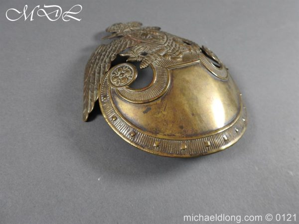 michaeldlong.com 15616 600x450 Russian Double Eagle Shako Helmet Plate