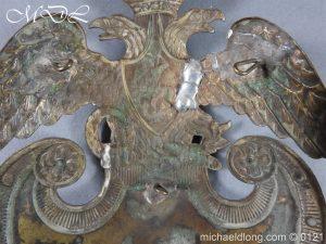 michaeldlong.com 15618 300x225 Russian Double Eagle Shako Helmet Plate