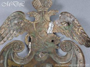 michaeldlong.com 15620 300x225 Russian Double Eagle Shako Helmet Plate