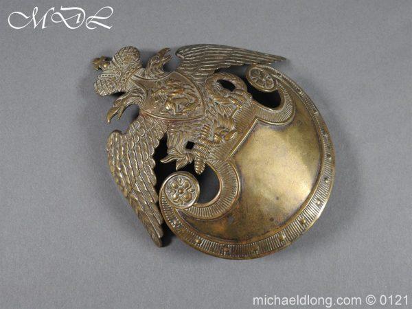 michaeldlong.com 15622 600x450 Russian Double Eagle Shako Helmet Plate