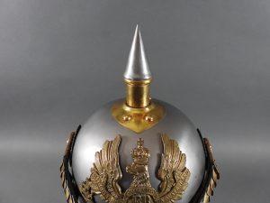 DSCN3903 300x225 Prussian Line Kurassier NCO Helmet