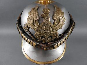 DSCN3904 300x225 Prussian Line Kurassier NCO Helmet