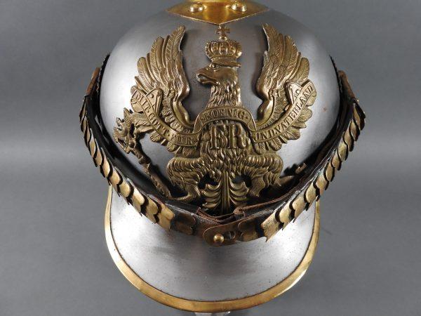 DSCN3904 600x450 Prussian Line Kurassier NCO Helmet
