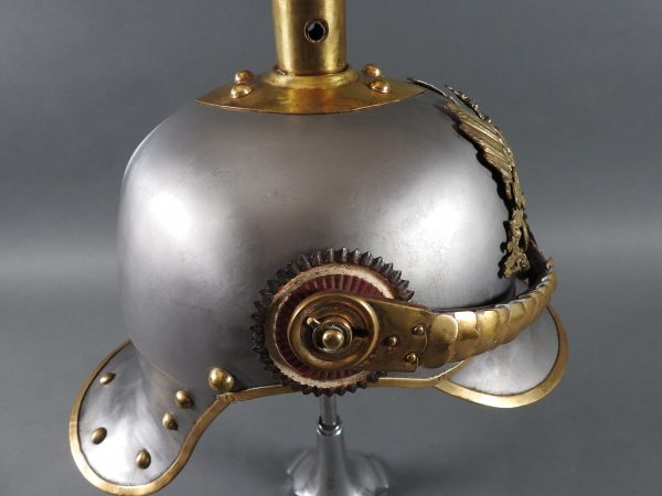 DSCN3906 600x450 Prussian Line Kurassier NCO Helmet
