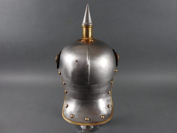DSCN3908 600x450 Prussian Line Kurassier NCO Helmet
