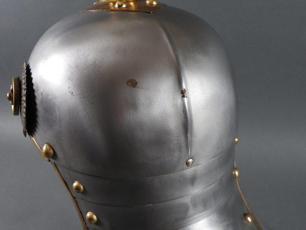 DSCN3911 600x450 Prussian Line Kurassier NCO Helmet