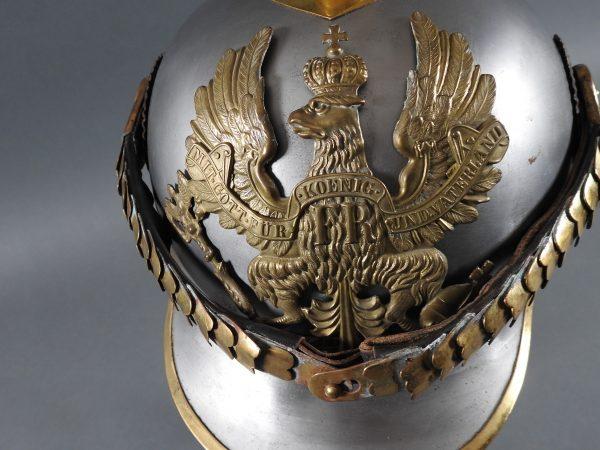 DSCN3916 600x450 Prussian Line Kurassier NCO Helmet