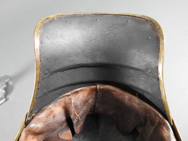 DSCN3918 600x450 Prussian Line Kurassier NCO Helmet