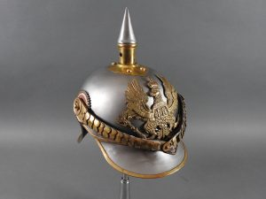 Prussian Line Kurassier NCO Helmet