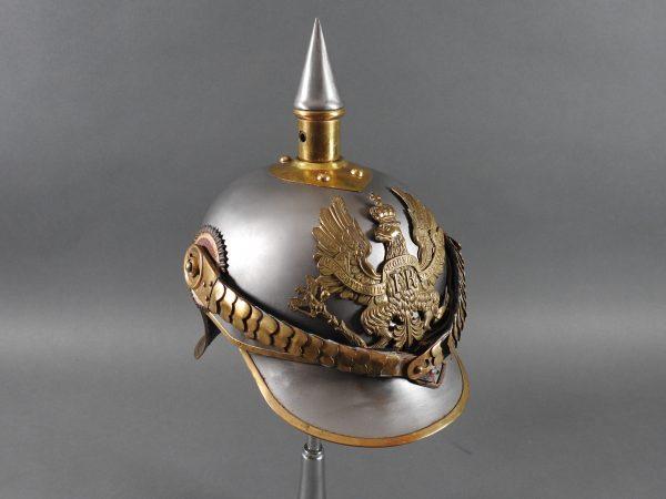 DSCN3921 600x450 Prussian Line Kurassier NCO Helmet