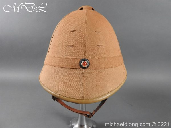 michaeldlong.com 15634 600x450 Imperial German Tropical Bortfeldt Helmet