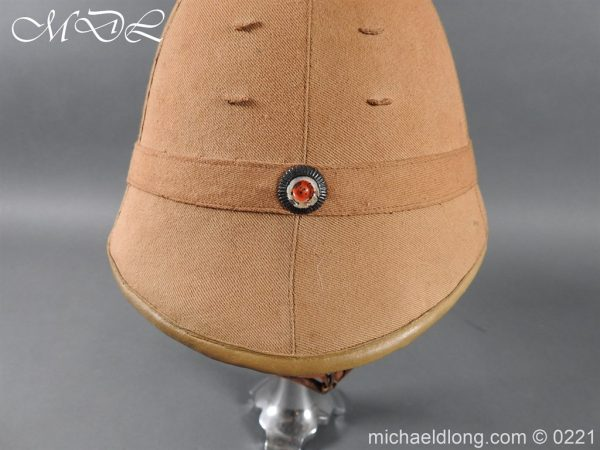 michaeldlong.com 15635 600x450 Imperial German Tropical Bortfeldt Helmet