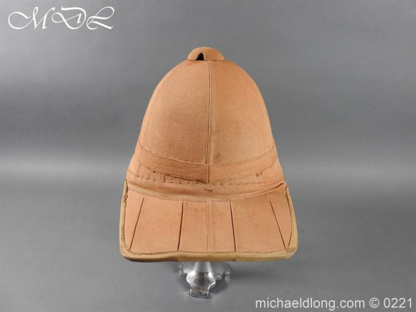 michaeldlong.com 15639 600x450 Imperial German Tropical Bortfeldt Helmet