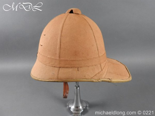 michaeldlong.com 15641 600x450 Imperial German Tropical Bortfeldt Helmet