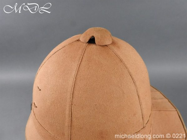 michaeldlong.com 15642 600x450 Imperial German Tropical Bortfeldt Helmet