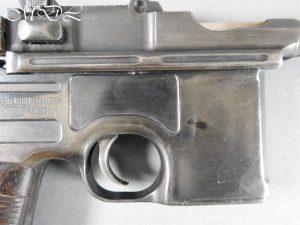 michaeldlong.com 15689 300x225 Deactivated WWI Mauser C96 Pistol