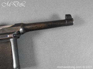 michaeldlong.com 15690 300x225 Deactivated WWI Mauser C96 Pistol