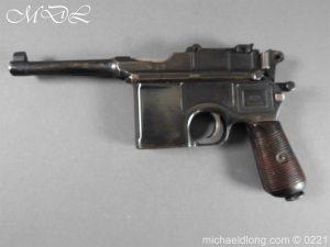 michaeldlong.com 15691 300x225 Deactivated WWI Mauser C96 Pistol