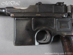 michaeldlong.com 15694 300x225 Deactivated WWI Mauser C96 Pistol