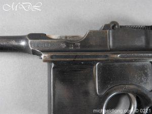 michaeldlong.com 15695 300x225 Deactivated WWI Mauser C96 Pistol