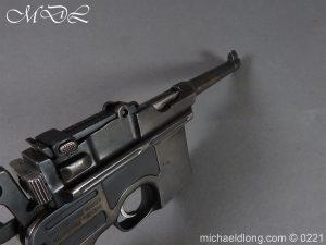 michaeldlong.com 15701 300x225 Deactivated WWI Mauser C96 Pistol