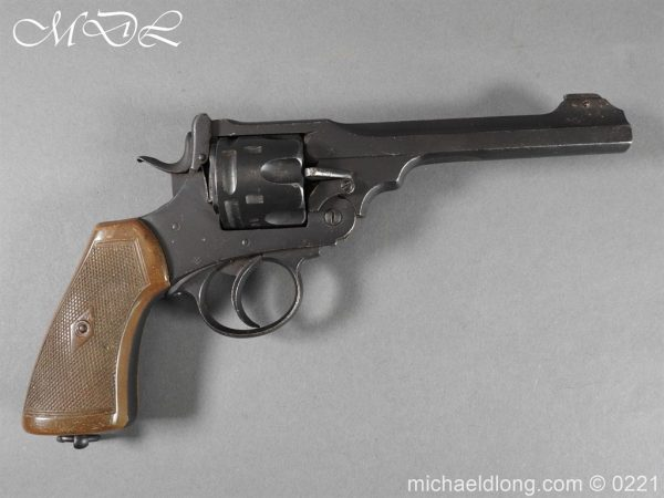 michaeldlong.com 15702 600x450 Webley MK 6 Military Revolver Deactivated